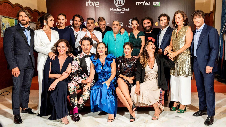 Los participantes y jueces de 'MasterChef Celebrity'. (EFE)