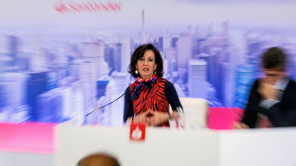 Foto: Ana Botín, presidenta de Banco Santander. (EFE)