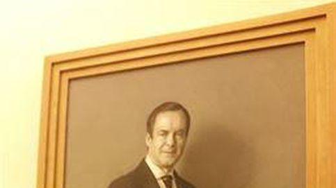 El retrato de José Bono, que costó 82.600 euros, ya luce en el Congreso