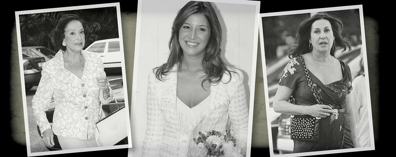 Foto: Las tres generaciones unidas en un fotomontaje realizado por 'Vanitatis'