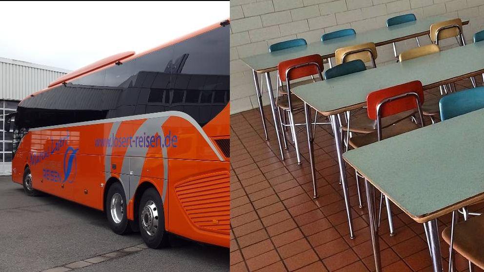 Buses y caterings, daños colaterales del parón de Madrid: Un 98% cancela