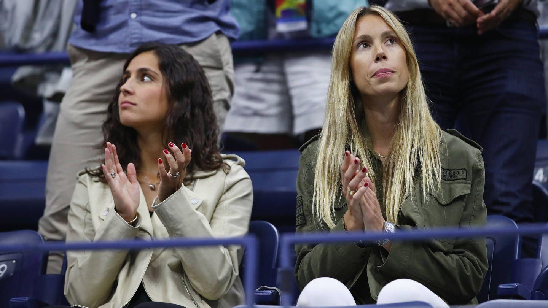 Mery y Maribel en el US Open de 2017. (Getty)