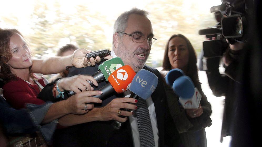 Foto: Vicente Cotino, uno de los detenidos en el caso de Eduardo Zaplana. (EFE)