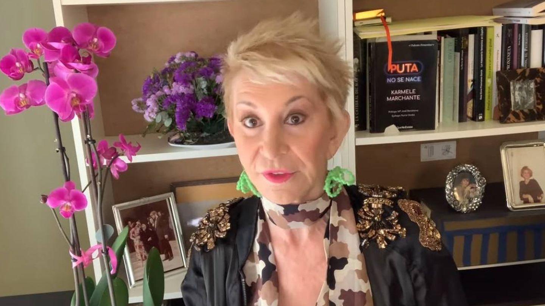 Karmele hablando de Paquirrín y Cantora. (Youtube).