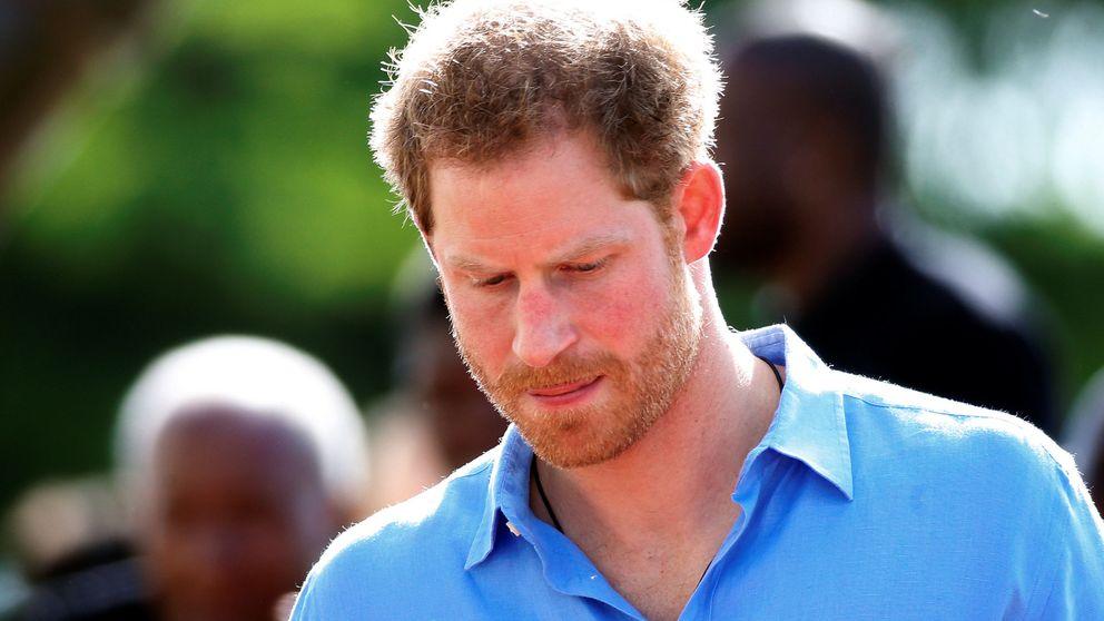 La seriedad del príncipe Harry en su viaje al Caribe