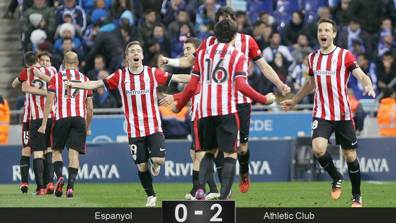 El mejor Athletic tenía una sola bala y la usó contra un Espanyol demasiado motivado
