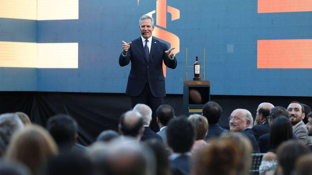 Foto: Alberto Vollmer, presidente de Santa Teresa en la salida a bolsa de la empresa (Reuters)