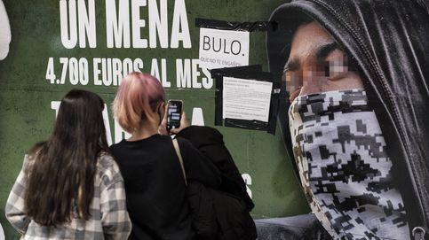 La jueza archiva la denuncia del PSOE contra Vox por el cartel de menores extranjeros