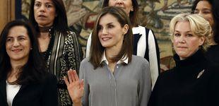 Post de El problema del nuevo look de Doña Letizia está en las medias