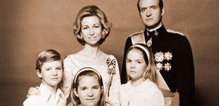 Post de Un matrimonio aparentemente feliz y muy popular: la familia real, 40 años atrás