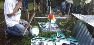 Post de Supervivientes de Chapecoense visitan el lugar en el que
