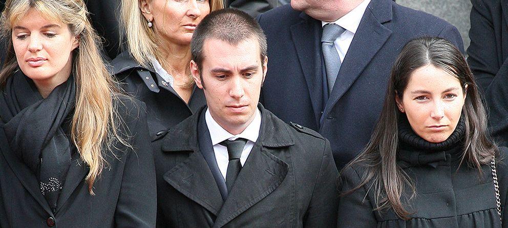 Foto: Alejandra Romero, en el funeral de Adolfo Suárez (Gtres)