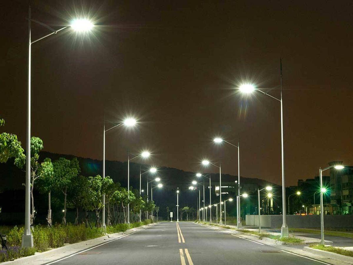 Foto: Contaminación lumínica por exceso de alumbrado. (EFE)