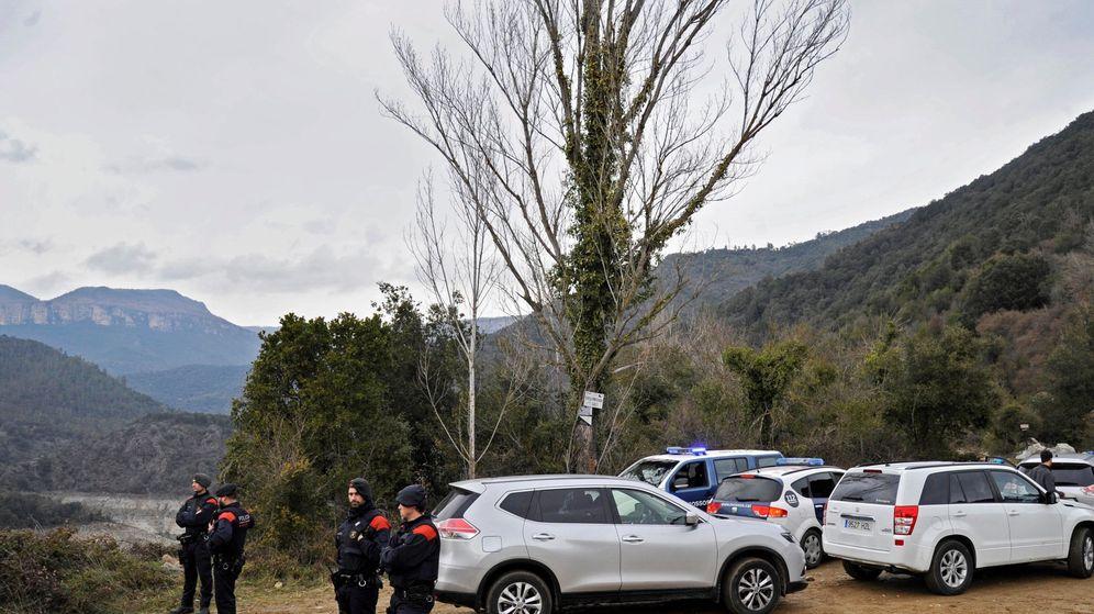 Foto: Reconstrucción del crimen de Susqueda en el mes de marzo del año pasado. (EFE)
