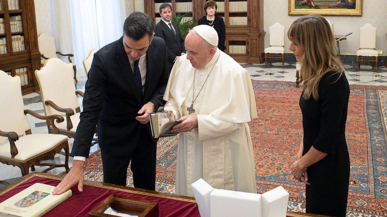 El Papa recibe a Sánchez en el Vaticano: La patria la tenemos que construir con todos