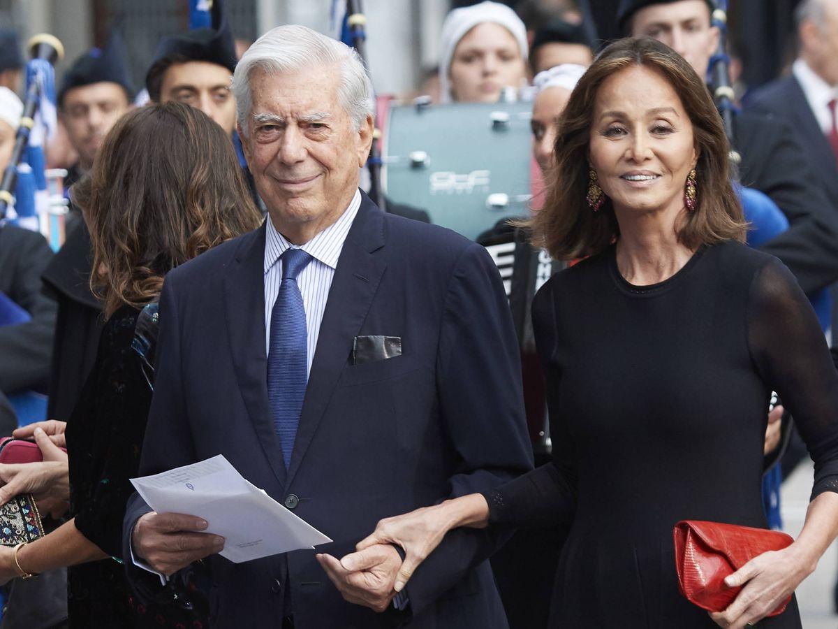 Foto: Isabel Preysler y Mario Vargas Llosa, en 2018. (Getty)