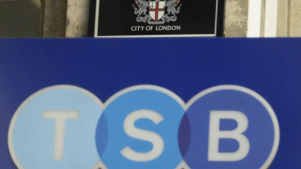 Foto: TSB, banco del Sabadell en Reino Unido. (Efe)