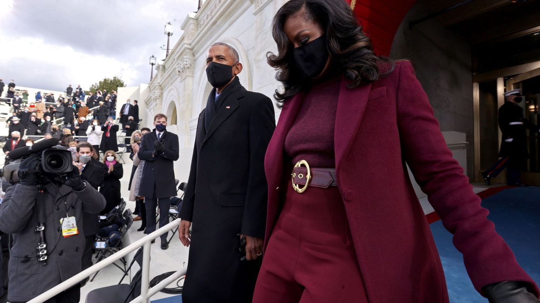 Michelle Obama, la indiscutible reina del estilo de la toma de posesión de Biden