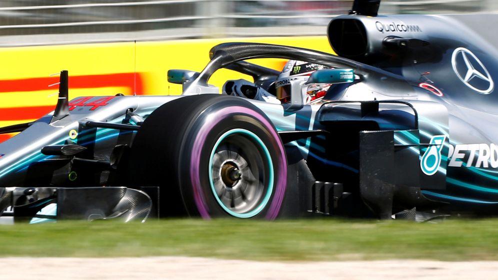 Foto: Lewis Hamilton marca el ritmo de los primeros entrenamientos en Australia. (Reuters)