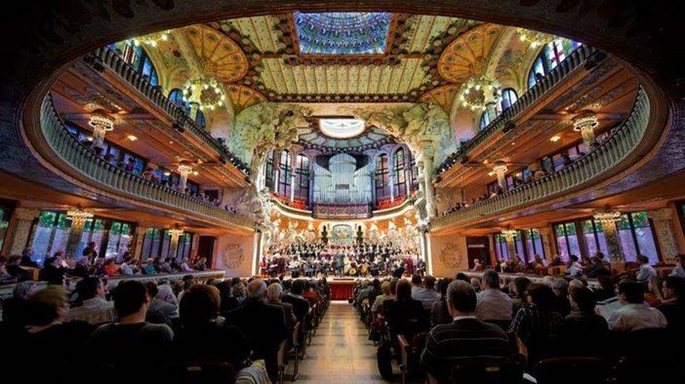 Foto: El Palau de la Música de Barcelona cerrará hoy sus puertas.