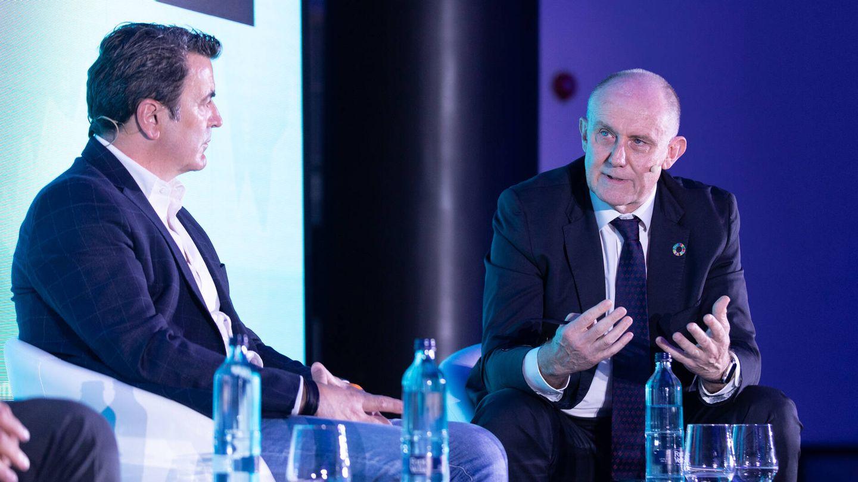 Enrique de los Ríos, director general de Unica Group, y Félix García, CEO de Kimitec.
