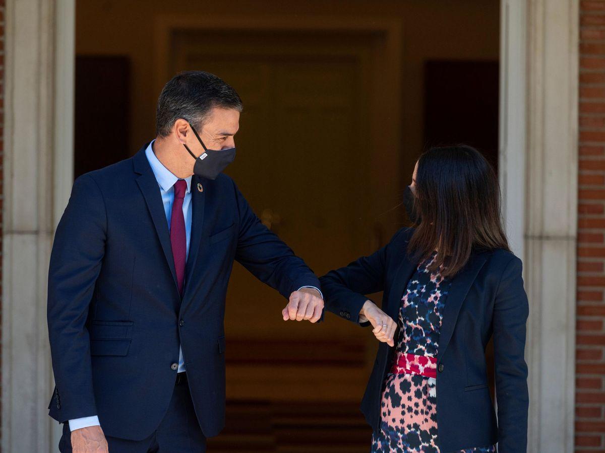 Foto: El presidente del Gobierno, Pedro Sánchez, y la líder de Cs, Inés Arrimadas. (EFE)