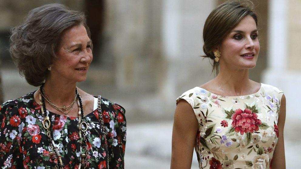 Los Reyes ofrecen una recepción en el Palacio de La Almudaina