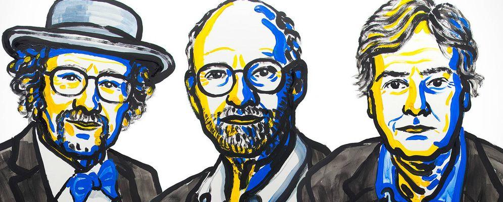 Foto:  Los tres ganadores del Nobel de Medicina 2017