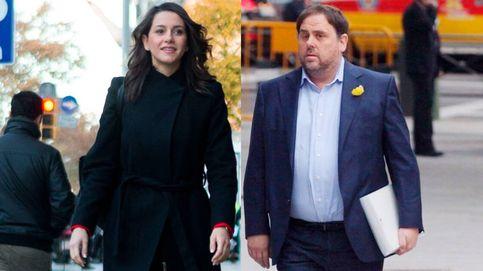 Cuatro opciones de Govern: entre Junqueras y Arrimadas con Iceta a la espera