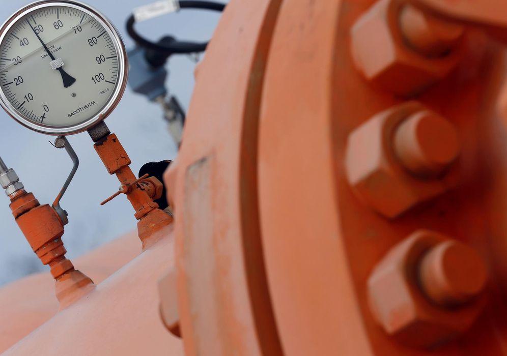 Foto: Un instrumento de supervisión en un gasoducto en Beregdaroc, Hungría, uno de los principales puntos de entrada del gas ruso a la Unión Europea. (Reuters9