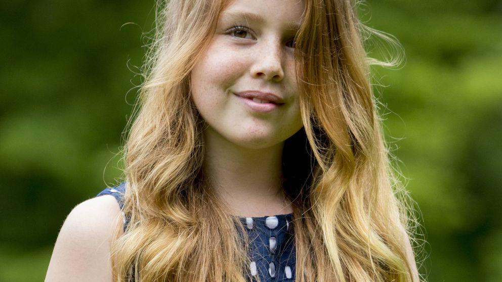 La princesa Alexia de Holanda, operada de nuevo de la pierna