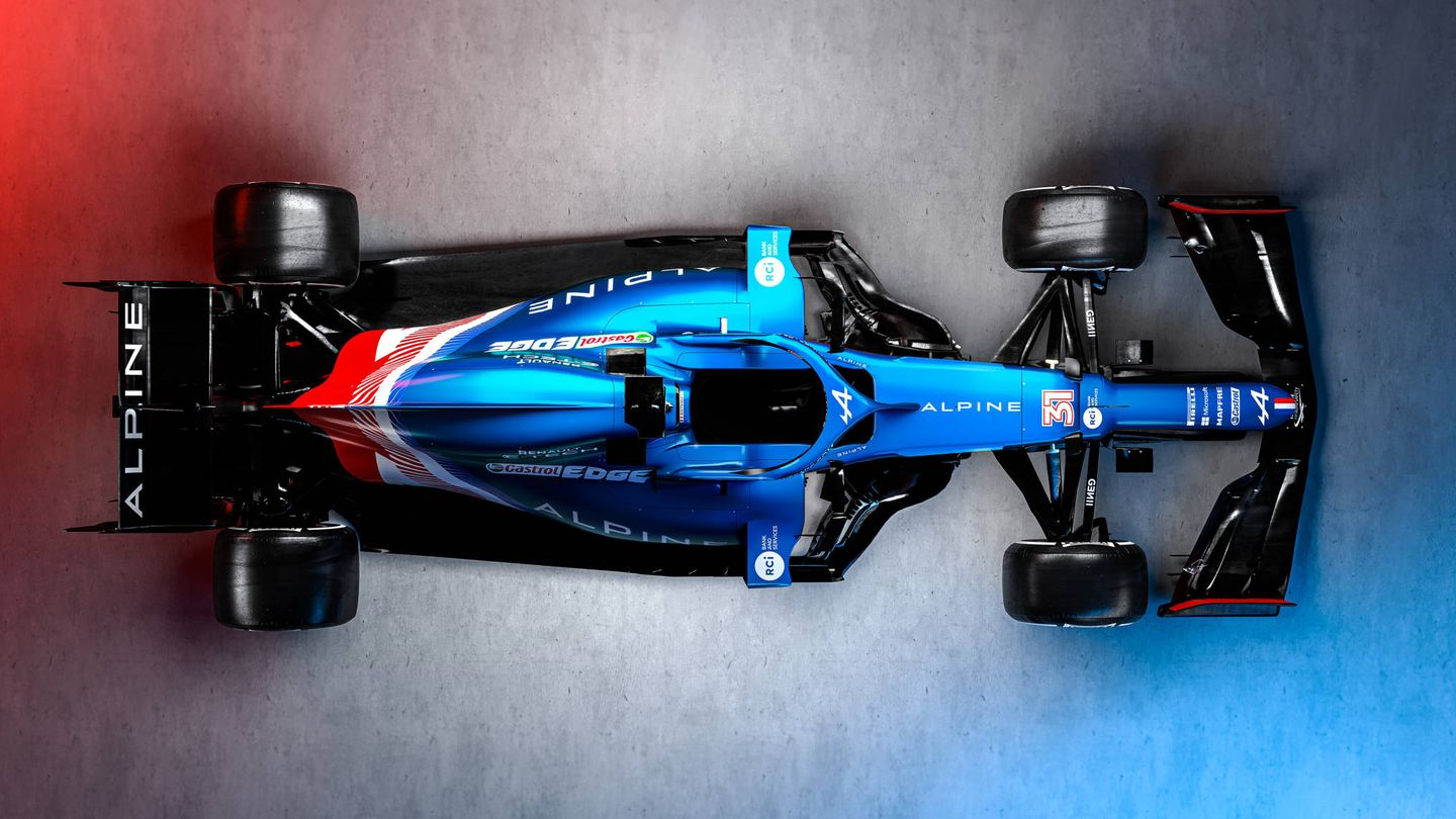 Alpine F1 Team Launch, Tuesday 2nd March 2021.
