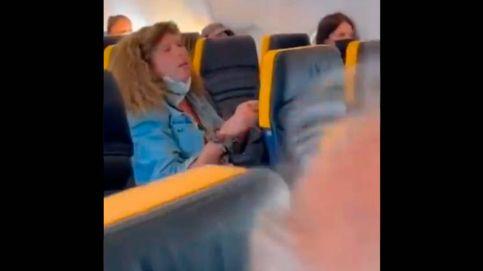 Bronca en un vuelo Ibiza-Milán por una pasajera que se negó a usar la mascarilla