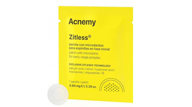 Parches antigranos Zitless de Acnemy.