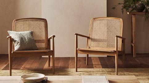Zara Home tiene el sillón con aire retro con el que llevas tiempo soñando