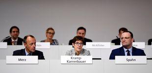 Post de La CDU elige como presidenta a la centrista Kramp-Karrenbauer, la favorita de Merkel