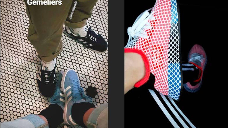 La marca Adidas también figura entre sus esenciales. (Instagram)