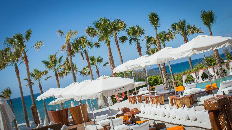 Mallorca y una cama balinesa ya es lo más. (Foto: Cortesía Nikki Beach)