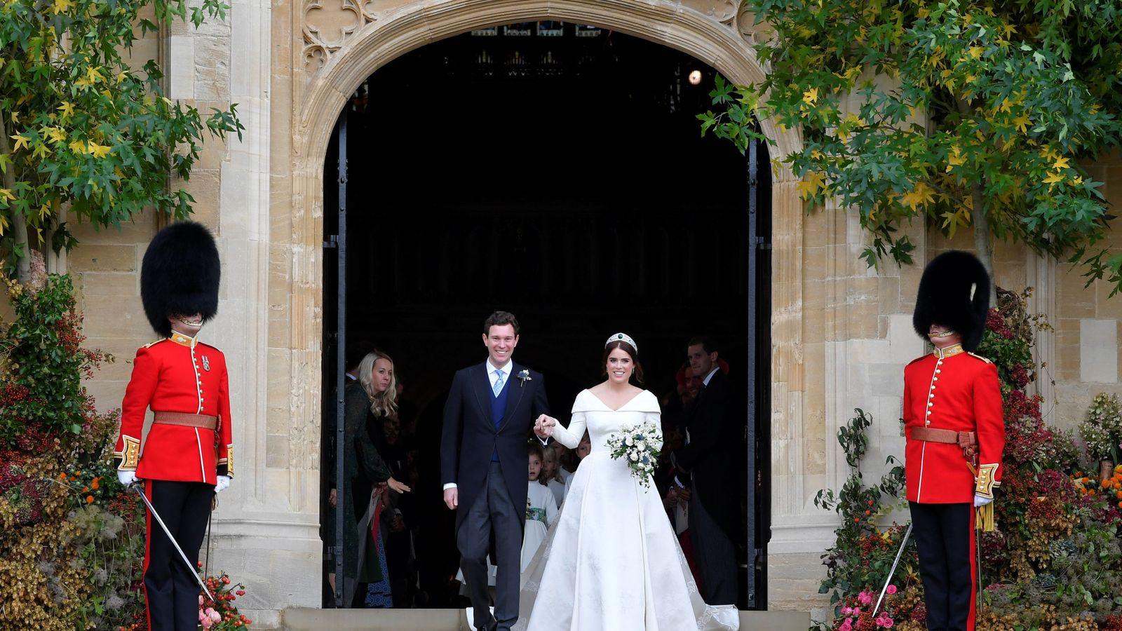 Directo - La boda de Eugenia de York y Jack Brooksbank en Windsor