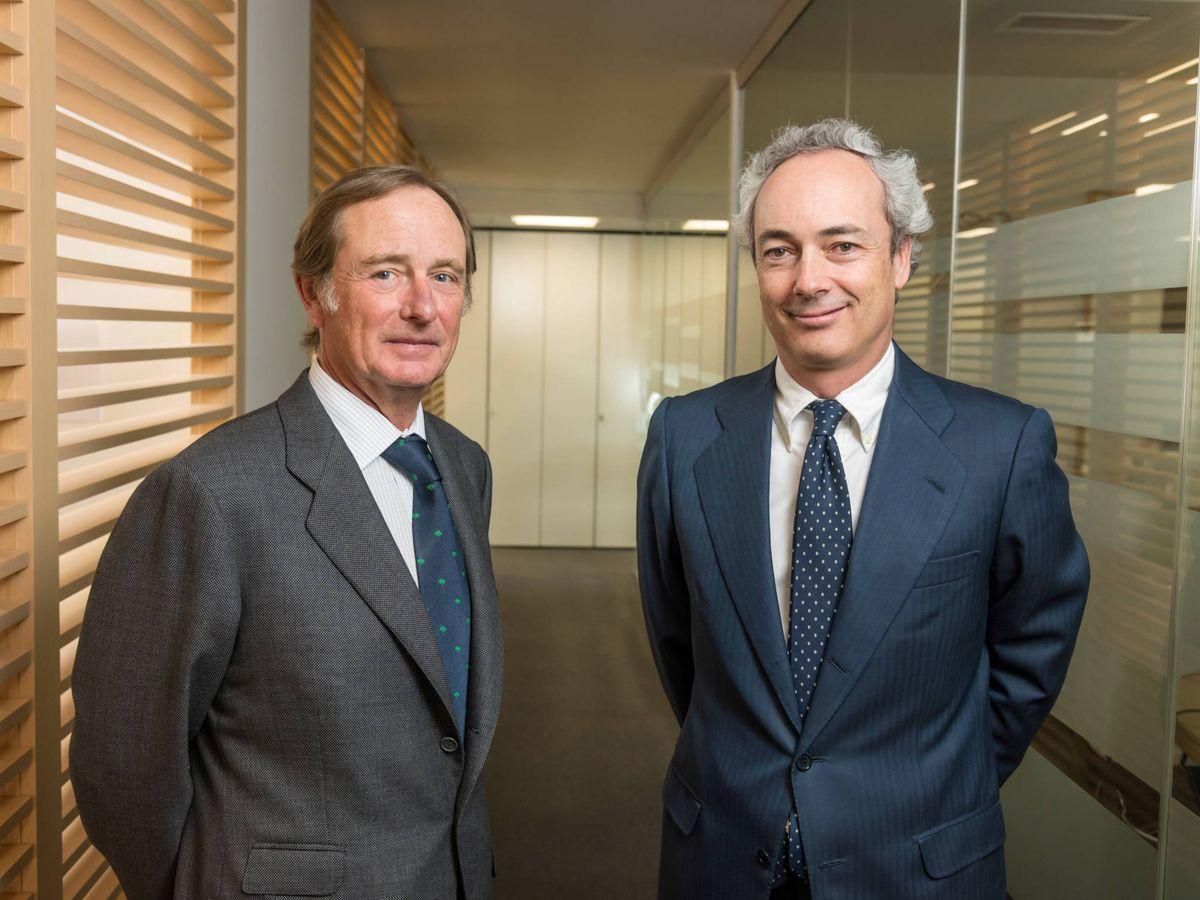 Foto: Claudio Aguirre y José Luis Molina, fundadores de Altamar