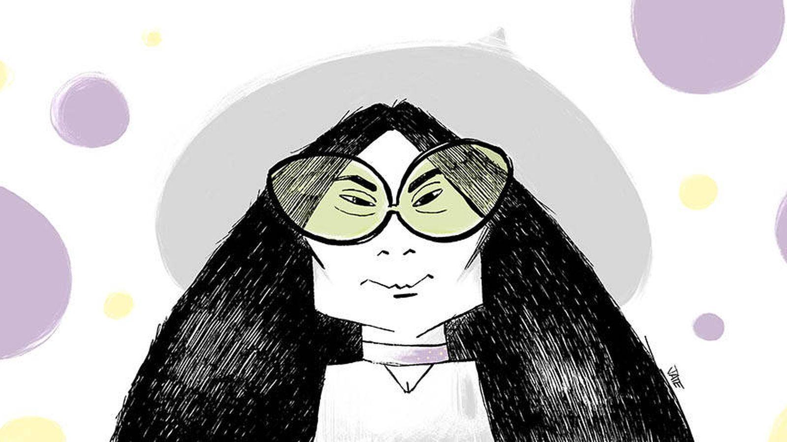 Foto:  Ilustración de Yoko Ono (Jate)