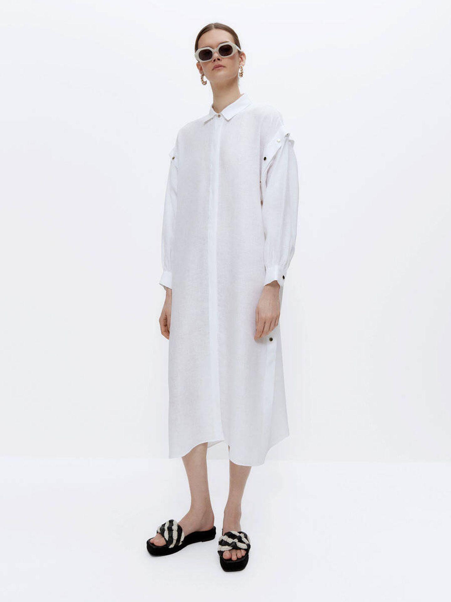 El vestido de Uterqüe. (Cortesía)