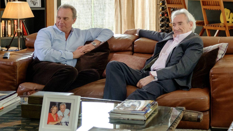 Luis del Olmo y Bertín Osborne, en 'Mi casa es la tuya'. (Mediaset)