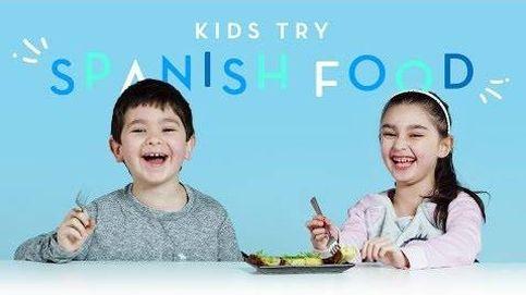 Estos niños estadounidenses prueban comida española y esta es su reacción