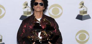 Post de Bruno Mars arrasa en los Grammy 2018 y se lleva los seis premios a los que optaba