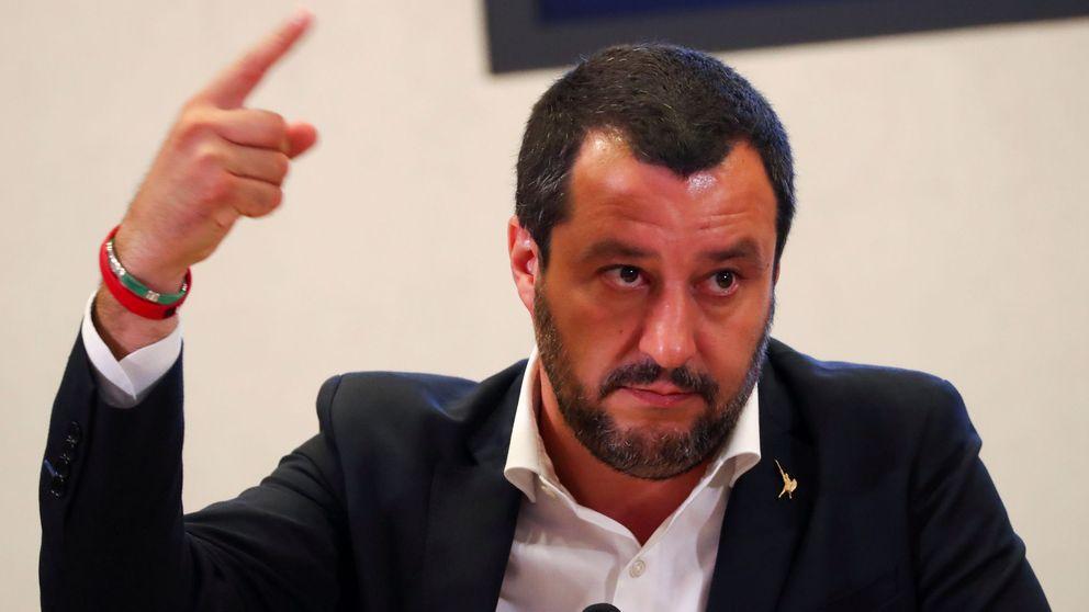 Salvini amenaza con llevar 177 inmigrantes rescatados a Libia si la UE no interviene