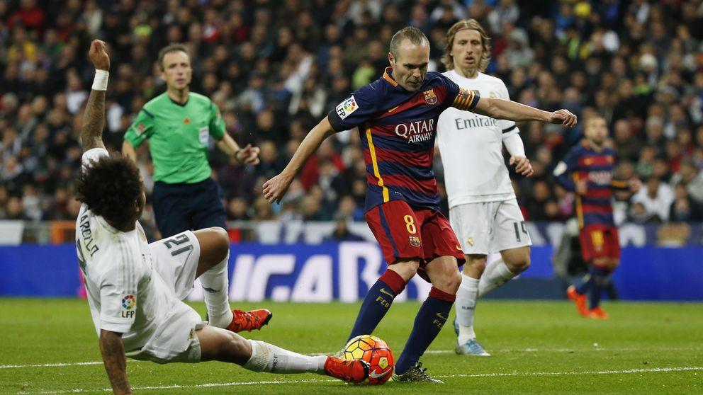 Iniesta, patrimonio de la humanidad, se fue aplaudido del Santiago Bernabéu