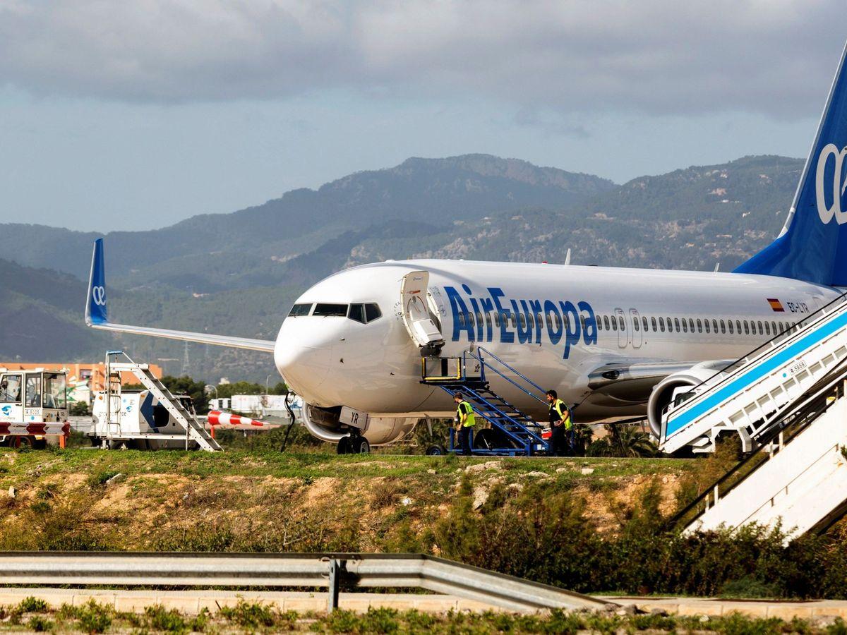 Foto: Un avión de Air Europa. (EFE)
