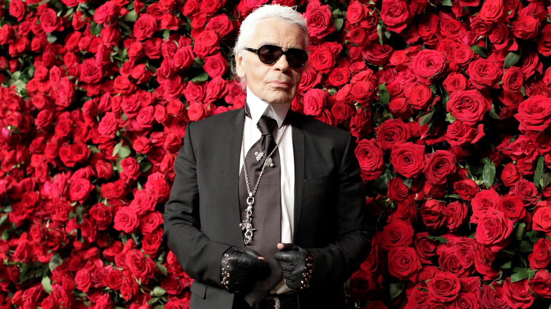 Karl Lagerfeld, en el año 2011 en Nueva York. (Reuters)