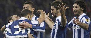 El Espanyol deja a Oltra contra las cuerdas tras imponerse al Deportivo en Cornellà